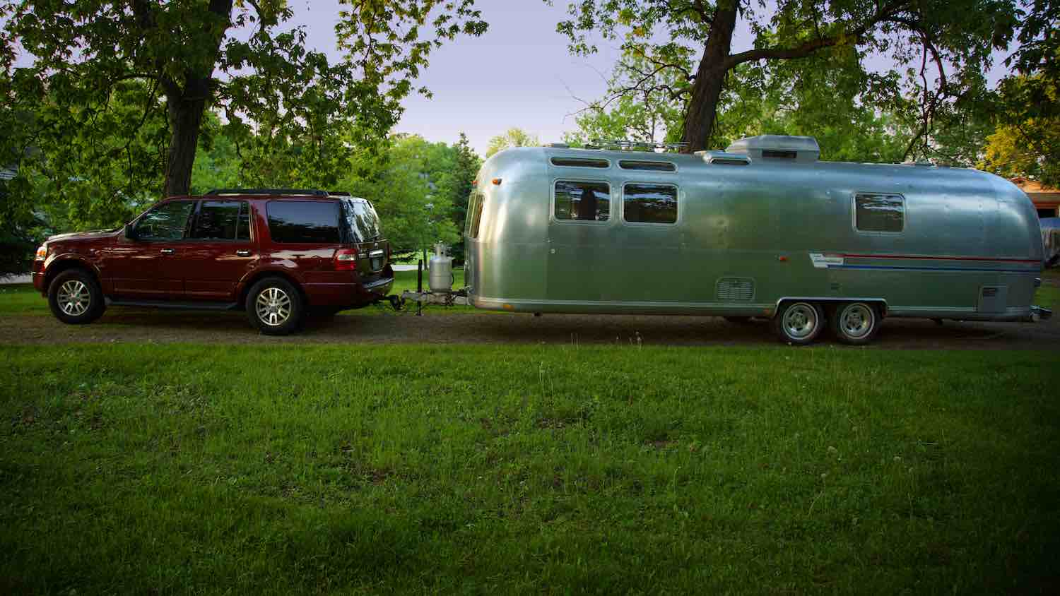 Time to camp with our Land Yacht Airstream Travel Trailer.