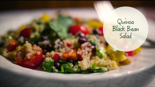 Growing Healthy Recipe No. 4: Quinoa Black Bean Salad